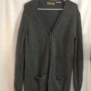 Grey Nordstorm  100% Pure Cashmere Sweater Size XS